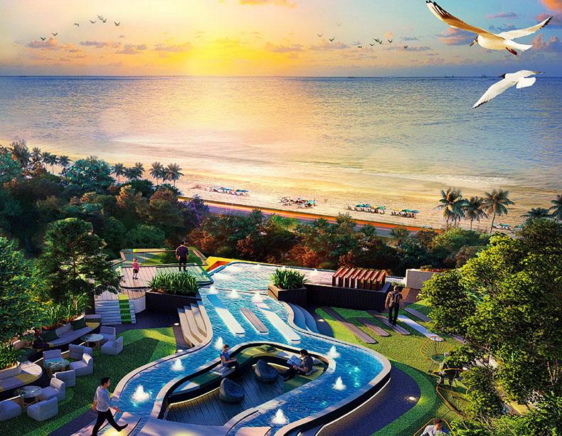 คอนโดน่าลงทุน Wyndham Garden Irin Bangsaray Pattaya